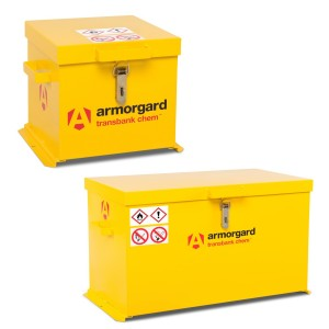 Armorgard TransBank Secure Chemical Storage Box (Various Sizes)