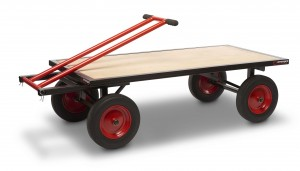 Armorgard TurnTable Truck Heavy Duty Platform Trolley 1000kg 700x1575x460mm