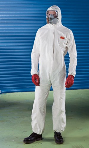 Ultrachem White Protection Type 5&6 Limited Life Coverall (Sizes S-XXL)