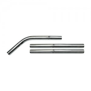 V-Tuf Chrome Pole Set for STACKVAC M-Class Dust Extractor Vac