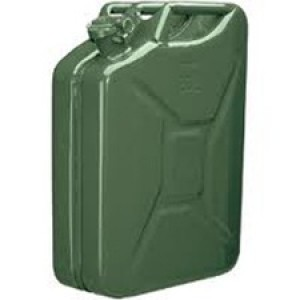 WD Pattern Steel Fuel Can (Jerrican) 20 Litre