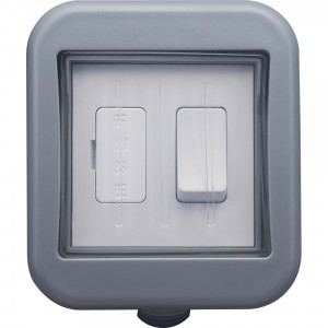 BG Outdoor Weatherproof IP55 1-Gang Switched Fused Connection Unit 13amp