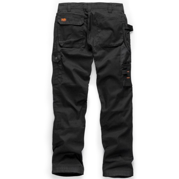 Scruffs Worker Plus Trousers with Knee Pads and Clip Belt Grey for sale online