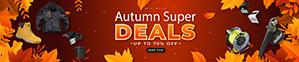 Autumn Super Deals - Save up to 70%