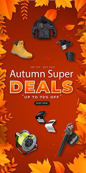 Autumn Super Deals - Save Up To 70% off