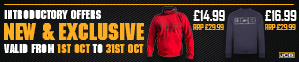 New and Exclusive JCB Workwear