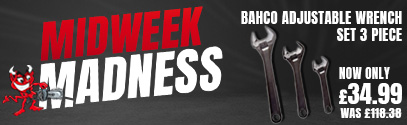 MidWeek Madness - Save on Bahco Adjustable Wrench Set 3 Piece
